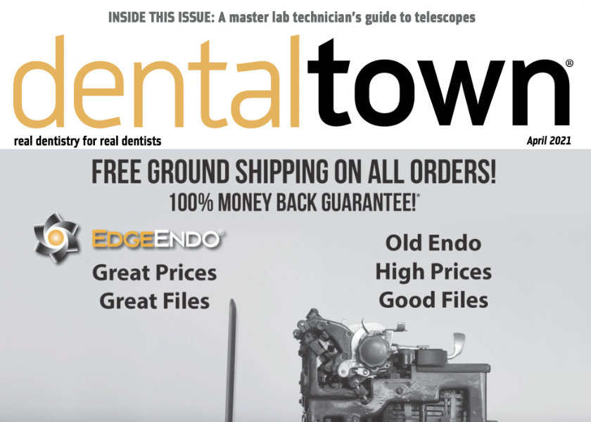 Descarcă Revista Dentaltown Aprilie 2021