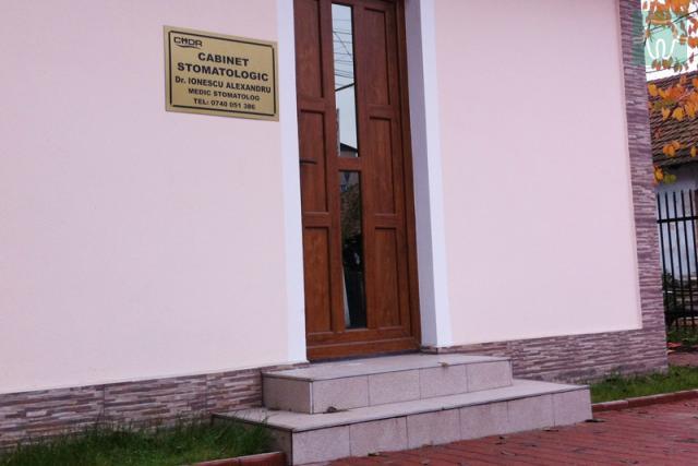 Cabinet Stomatologic Targu-Jiu, Dr. Ionescu Alexandru Ionescu